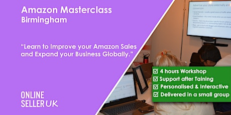 Amazon Masterclass Training Course - Birmingham tickets