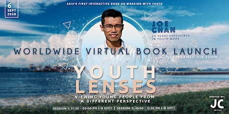 Invitation to Global Book Launch Event - Youth Lenses tickets