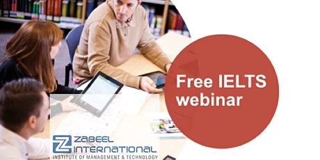 Webinar on IELTS Information- Association with British Council tickets