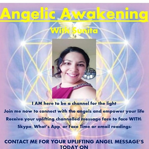 Angelic Awakening with Sunita logo