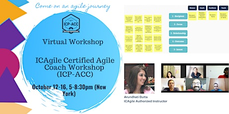 ICP-ACC Agile Coach Certification Workshop (Virtual) tickets