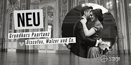 Standard Tanzkurs - DISCOFOX, Salsa & Co. Tickets