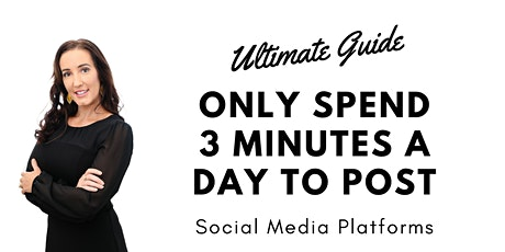 Tradies: Only Spend 3 Minutes a Day to Post on Social Media Platforms! tickets