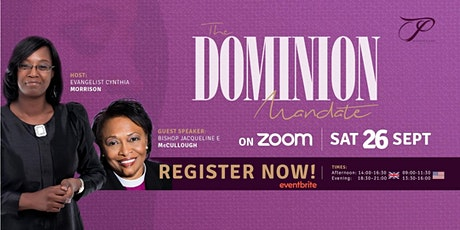 PPP 2020 'The Dominion Mandate' Virtual Conference tickets
