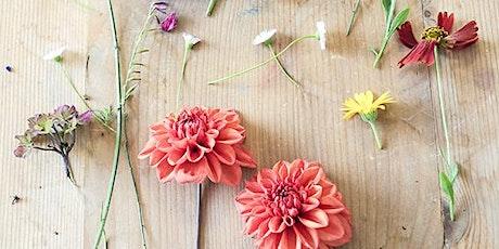 Flower Pressing Workshop tickets