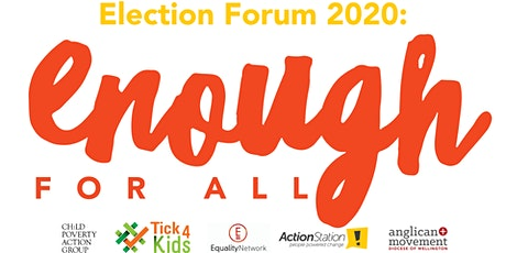 Enough for All: Election Forum 2020 tickets