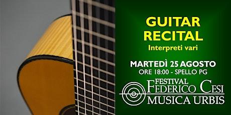 Guitar Recital - Il fascino delle sei corde biglietti