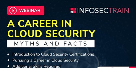 A Career in Cloud Security – Myths and Facts tickets