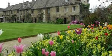 MY VIRTUAL JERICHO;TOUR OF WORCESTER COLLEGE GARDENS tickets