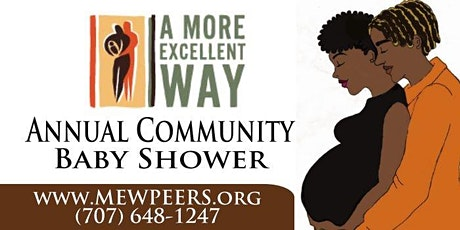 Contra Costa County's Virtual African American Community Baby Shower tickets