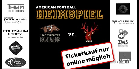 AFC Mostviertel Bastards vs. Black Valley Wild Tickets