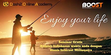 Seminar Gratis 3 Skill dan 3 Rahasia Strategi Bisnis Internet Millionaire tickets