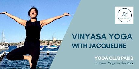 Vinyasa Yoga in the Park tickets
