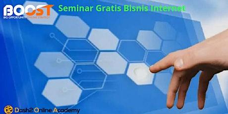 Seminar Gratis 3 Skill & 3 Rahasia Bisnis Internet Millionaire tickets