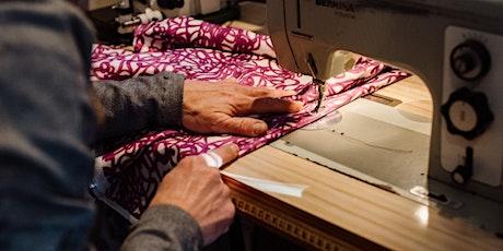 Beginners sewing workshop tickets