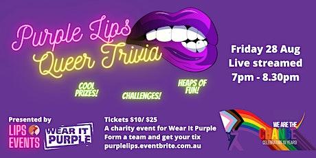 Purple Lips Queer Trivia tickets