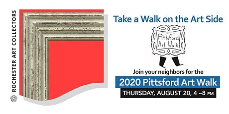 Pittsford Art Walk 2020   Five Galleries Will Be Open   FREE tickets