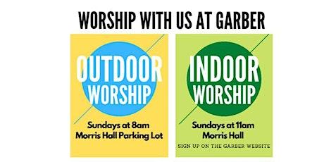 August 16 Indoor Worship at 11am tickets
