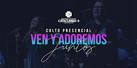 Culto Presencial 10| Adoremos Juntos tickets