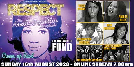RESPECT - THE ARETHA FRANKLIN SONGBOOK tickets
