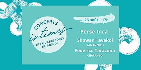 Concert 3 - Perse-Inca // Lancement album billets