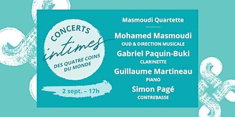 Concert 4 - Masmoudi Quartette billets