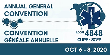 CUPE 4848 13th AGC / SCFP 4848 13e CGA tickets