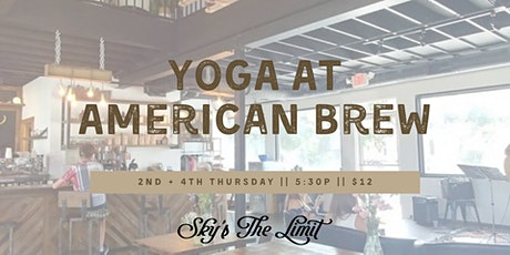 Yoga on the Patio at American Brew tickets