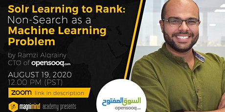 Solr Learning to Rank: Non-Search as a Machine Learning Problem tickets