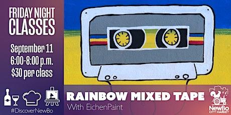 Friday Class: Rainbow Mixed Tape Painting tickets
