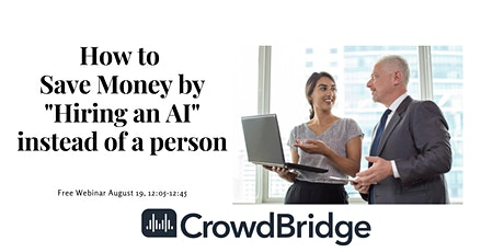 """How to save money by """"hiring"""" an AI instead of a person tickets"""