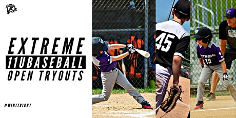 11u EXTREME BASEBALL OPEN TRYOUTS tickets