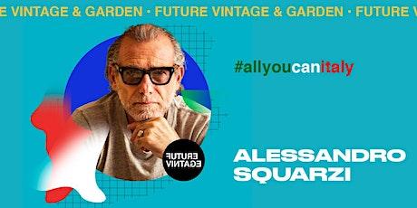 ALESSANDRO SQUARZI // Future Vintage 2020 biglietti