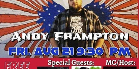 Andy Frampton's A Rebel Without A Cause Comedy Show tickets