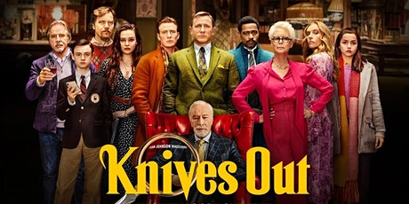 Knives Out (2019)The Kingsway Open Air Cinema tickets