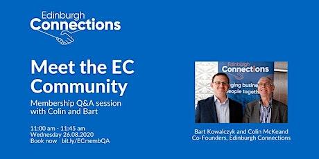 Meet the EC Community 26.08.2020 tickets
