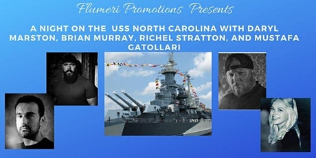 Ghost Hunters Daryl, Mustafa, Brian and Richel at The USS North Carolina tickets
