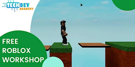 Free-Live Intro to Roblox Game Design Workshop for Kids tickets