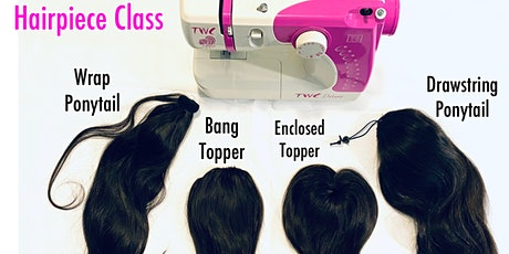 Atlanta, GA | Hairpiece Making Class with Sewing Machine tickets