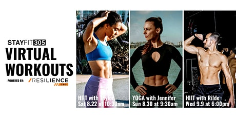 STAY FIT 305 Virtual Workout: HIIT with Rilde Leon tickets
