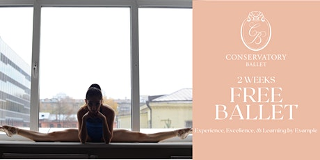 TWO WEEKS FREE Live Ballet Class - Stretch and Conditioning tickets