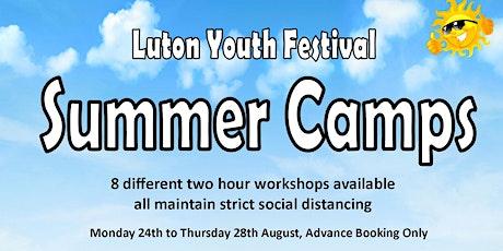 Luton Youth Festival Summer Camp -  Drama tickets