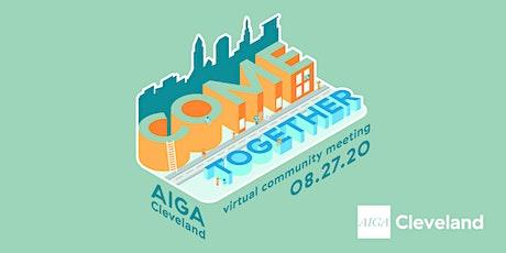 August Virtual Community Meeting tickets