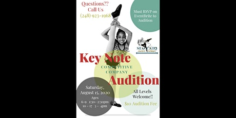 Staccato Dance Works: Key Note Competitive Company Auditions tickets