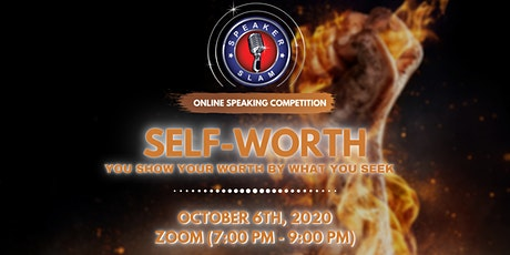 Speaker Slam - Online Speaking Competition: Self-Worth tickets