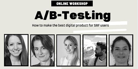 A/B-Testing-Workshop with SRF on making great digital products tickets