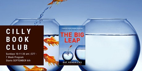The Big Leap - Cilly Book Club tickets