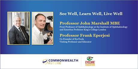 See Well, Learn Well, Live Well - Eyecare in the Commonwealth tickets