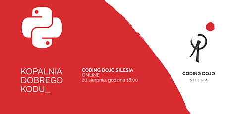 Coding Dojo Silesia #2On - Python Edition tickets