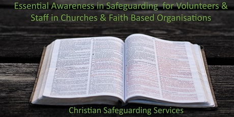 Essential Awareness Safeguarding Training for Church `Staff & Volunteers tickets
